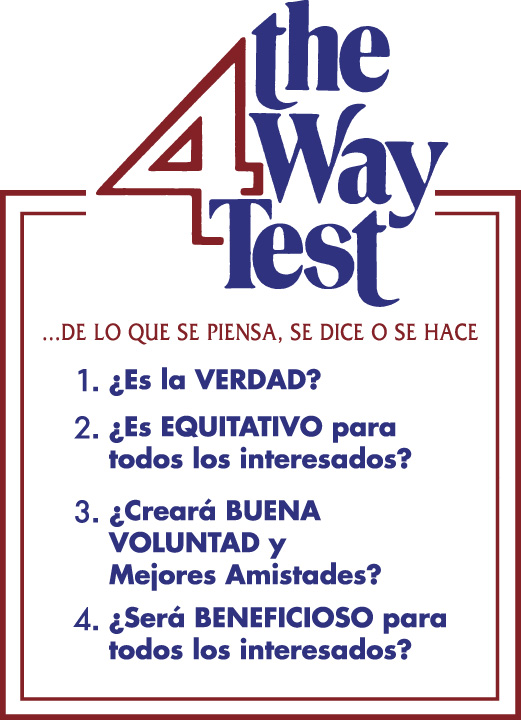 About the 4-Way Test